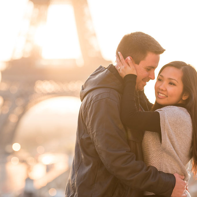 Morning Eiffel Tower Shoot Session Paris