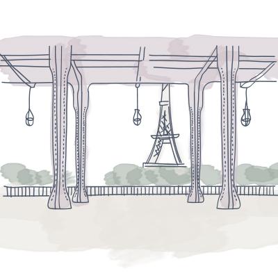 Eiffel Tower Pont Bir Hakeim