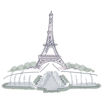 Eiffel Tower Trocadero