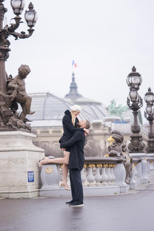 Pont Alexandre III view Grand Palais